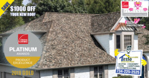 Owens Corning Roofing Product Excellence Gold Award